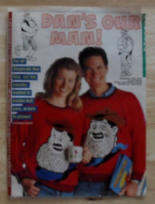 Gary Kennedy Adult Desperate Dan Jumper D.k 8 Page Knitting Pattern Pull Out • 0.99£