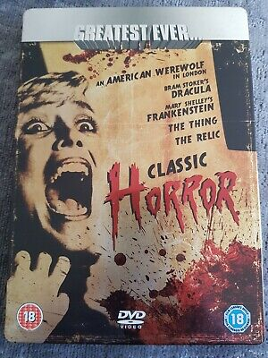 Greatest Ever Classic Horror Collection (DVD, 2008, 5-Disc Set, Box Set) • 2.60£