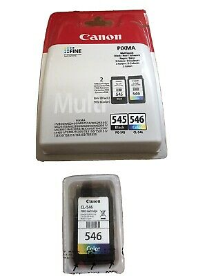 Canon PG-545 / CL-546 Ink Cartridge - Pack Of 2 • 6.90£
