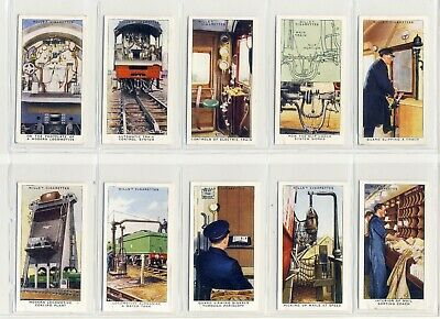 £5 • Buy Wills  Railway Equipment . A Full Set Of 50 Cards Supplied In Sleeves.