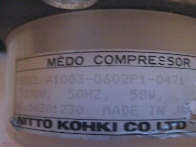 Medo Air Compressor Model  A1003-0602pi-0471 • 40£