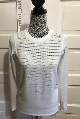 $ CDN74 • Buy LULULEMON Breeze By Long Sleeve *Squad Size 6 White Swiftly Tech