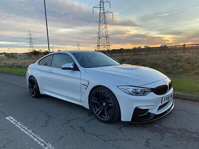 2016 Bmw M4 Dct Pearl White Black Leather Hud 1 Owner Px  • 24,495£