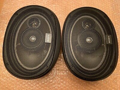 2 X Sony XS-5693 3 Way Car Speakers 180W 4 Ohms  • 19£
