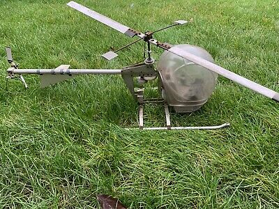 Bell-style 'Whirlybirds' Model Large-scale Vintage Helicopter • 250£
