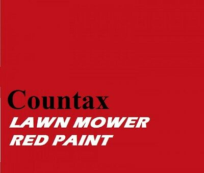 £19.95 • Buy COUNTAX LAWN MOWER RED Machinery Tractor 1ltr Of Enamel Paint Brush Or Spray On