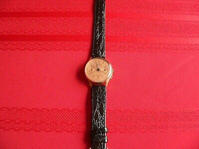 $ CDN617.56 • Buy Vintage Solid Gold Mens Chronograph 18K
