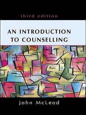 An Introduction To Counselling By Mcleod, John Book The Cheap Fast Free Post • 10.50£