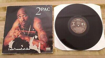 2pac I Aint Mad At Cha 12' Single Record Death Row Gangsta Rap OG Hip-Hop Vinyl • 10£