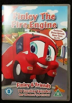 Finley The Fire Engine Vol.1 - Finley And Friends (DVD, 2010) • 5£
