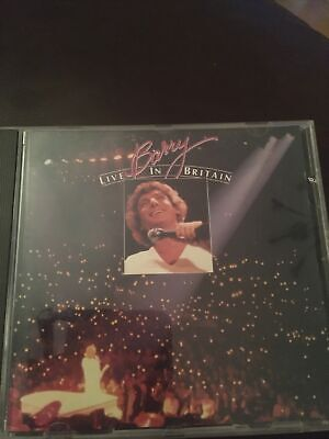 Barry Manilow - Barry Live In Britain -  CD Album Vgc • 5.25£
