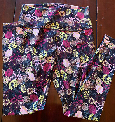 $ CDN59 • Buy Lululemon Wunder Under Hi-Rise Tight Size 8 Fluorolace Multi Run Cycle 28in