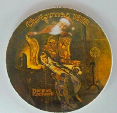 $ CDN8.92 • Buy Knowles China Rockwell 1978  Christmas Dream  Collector 8  Plate