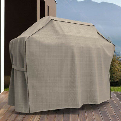 $ CDN97.47 • Buy 60  BBQ Grill Cover 4-6 Gas Burner Protector For Weber KitchenAid Napoleon Grill