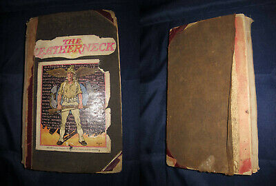 $157.50 • Buy Awesome USMC Marine's Nicaragua China Scrap Book Album Documents Photos Pre WW2
