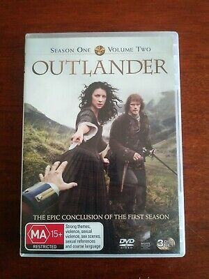 AU10.95 • Buy Outlander - Season 1 Part 2 (DVD, 2015, 3-Disc Set)