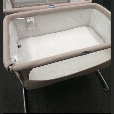 Next2me Crib Chicco Baby Co Sleeping Cot Bedside Next To Me • 35£