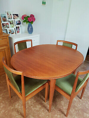 AU337.10 • Buy Parker Oval Extension Dining Table Plus 4 Chairs, Reasonable Used Condition