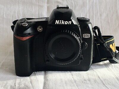 Nikon D70 6MP Infrared IR Converted Enabled Modified Digital SLR Camera 590nm • 140£