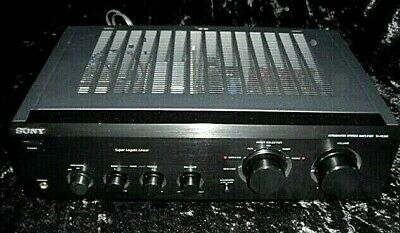 Vintage Sony Integrated Amplifier Model Ta-fe230 With Phono Stage Fully Working! • 23£