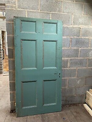 6 Panel Interior Wooden Door. • 10£