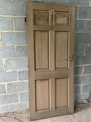 6 Panelled Wooden Interior Door • 10£