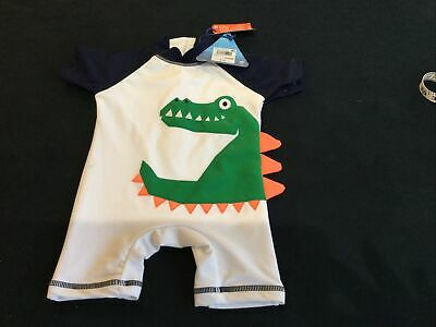 Next Baby UV Protection Sun Suit New With Tags 6-9 Months Dragon • 6£