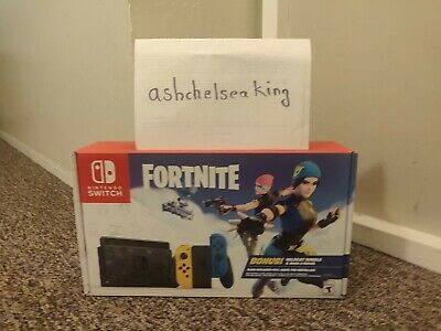 $ CDN381.17 • Buy Nintendo Switch Fortnite Special Edition Brand New WITHOUT CODE