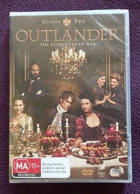 AU11.99 • Buy Outlander : Season 2 (DVD, 2016, 6-Disc Set) R4 Season Two - Brand New & Sealed