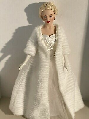 Marilyn Monroe Doll All About Eve Porcelain Franklin Mint • 62.17£