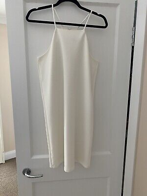 AU8 • Buy Mango White Dress Size M