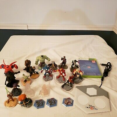 $ CDN31.83 • Buy Disney Infinity Lot For Xbox 360 Includes Game Portal And Lots Of Figures