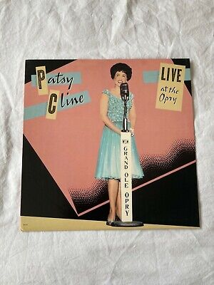 Patsy Cline - Live At The Opry - Vinyl LP • 4£