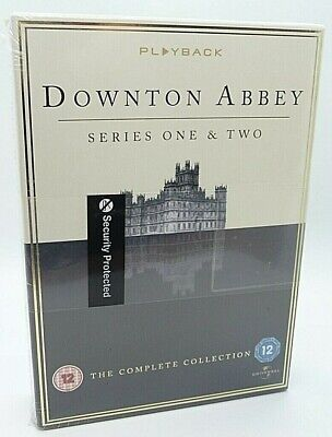 New & Sealed Downtown Abbey Series One & Two Dvd The Complete Collection (d4) • 9.99£
