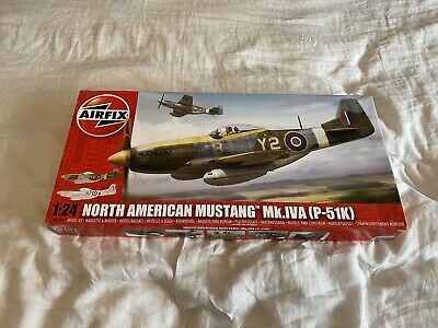 Airfix, 1/24 Scale North American Mustang Mk.IVA (P-51K) (A14003A) Model Kit • 50£