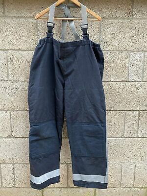 £24.99 • Buy Ex Fire & Rescue BLUE Trousers Fire Service Firefighter Gore-Tex Various Sizes