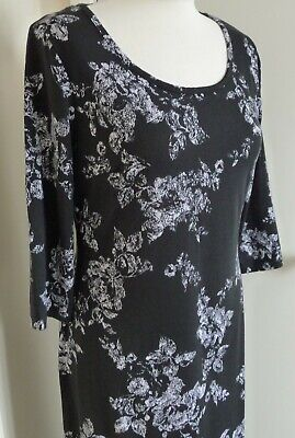 BNWT Black & White Stretch  Dress Size 10 Anthology  • 4.99£