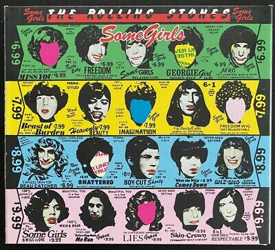 The Rolling Stones - Some Girls - Deluxe Edition 2 X CD - (EU) Digipak - VG++/NM • 24.99£