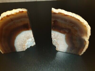 Agate Crystal Bookends • 17.10£