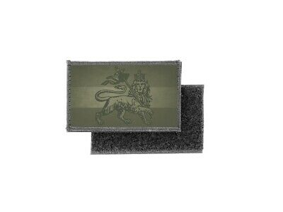 Patch Printed Camo Camouflage Badge Flag Ethiopia Lion Rasta • 4.74£