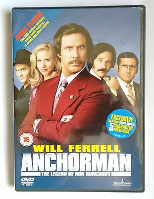 Anchorman - The Legend Of Ron Burgundy (DVD, 2005) • 1£