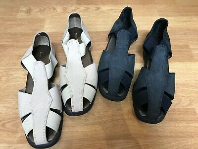 Italian Leather SAN MALO Sandals  -  Size 7 - Two Pairs • 20£