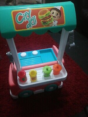 Pre School City Deli Playset With Cooking Sounds And Food • 10£