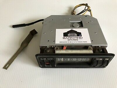 AU650 • Buy Torana LJ Radio And Bracket Suit S SL GTR XU1 Holden TA Deluxe Not HB LC LH HQ