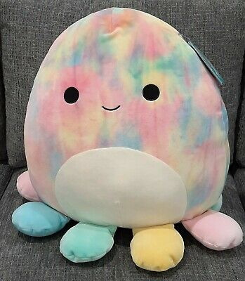 $ CDN59.90 • Buy Kellytoy Squishmallows Opal The Rainbow Octopus 16  Pet Pillow Plush NEW
