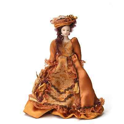 $ CDN63.15 • Buy Vintage Artisan Porcelain Dollhouse Doll 6  Victorian Lady Parasol & Hat Custom
