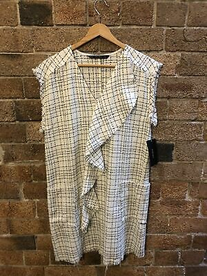 AU25 • Buy Zara Tweed Dress Size XS 8 EUC