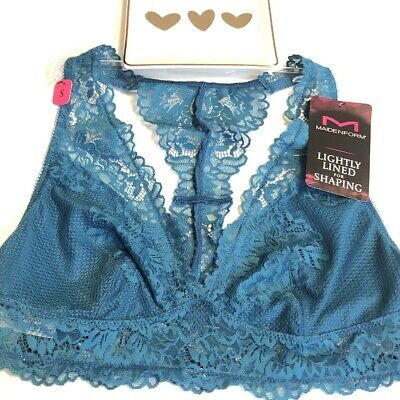 $10.95 • Buy Maidenform T-Back Lace Bralette BRA Size Small NWT