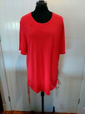 AU49.95 • Buy Verge Red  Redemption  Top  Size XL New Zealand Designer BNWT  RRP $160