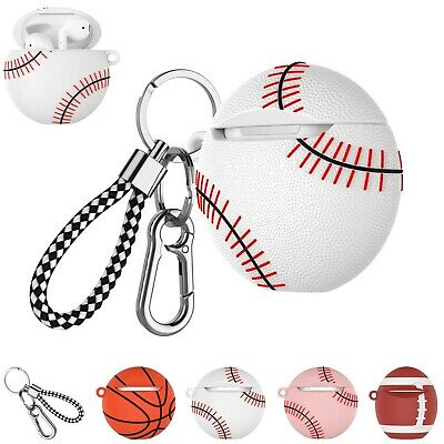 $ CDN8.80 • Buy For Airpods 2/1 Accessories Case Set Cover Cute With Keychain Ring Circle Women